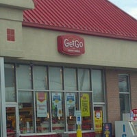 Photo taken at GetGo Gas Station by Lisa A. on 11/19/2011