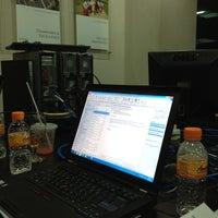 Photo taken at PT. Indika Energy Tbk by Syahru R. on 2/20/2012