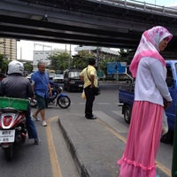 Photo taken at Khlong Tan Intersection by Chayin A. on 6/12/2012