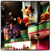 Photo taken at Disney Store by Jordan P. on 5/10/2012