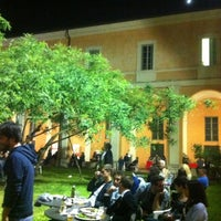 Photo taken at Student's Hostel della Ghiara by Letizia C. on 4/28/2012