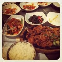 Photo taken at New Wonjo by Manisha on 3/24/2012