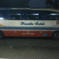 Photo taken at Agen Bus Rosalia Indah by Alex E. on 9/9/2011