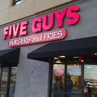 Photo taken at Five Guys by Marvin O. on 9/25/2011