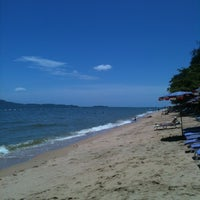 Photo taken at Dongtan Beach by Alexey B. on 7/15/2012
