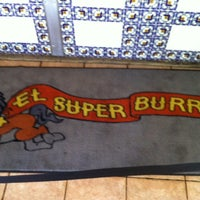 Photo taken at El Super Burrito by Jeff T. on 5/25/2012