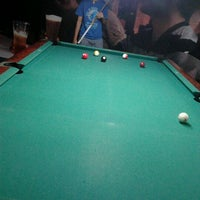 Photo taken at Brewball Pool Club & Bar by ard P. on 2/1/2012