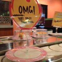 Photo taken at Kura Sushi by Diane B. on 5/20/2012