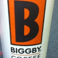 Photo taken at BIGGBY COFFEE by Laura C. on 4/16/2012