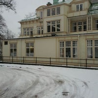 Photo taken at Mössebergs Kurort by Henrik H. on 3/9/2012