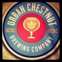 Photo taken at Urban Chestnut Brewing Company by Lauren V. on 4/19/2012