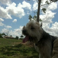 Photo taken at West Kendall Hammocks Dog Park by Cary S. on 3/11/2012