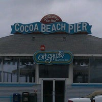 Photo taken at Cocoa Beach Pier by Vanelli !. on 10/19/2011