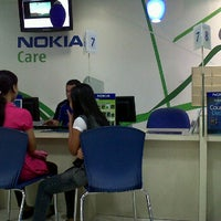 Photo taken at Nokia Care Metropolitan Mall by fatoer d. on 4/15/2012