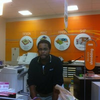 Photo taken at OfficeMax by Wingstop p. on 10/21/2011