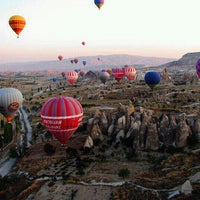 Photo taken at Cappadocia by Muhammet K. on 3/10/2012