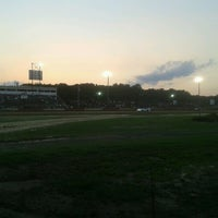 Photo taken at Delaware International Speedway by Aaron C. on 8/18/2012