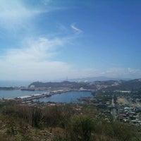 Photo taken at Mirador salina cruz by Luigui R. on 2/14/2012
