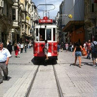 Photo taken at Demirören İstiklal by Stephanie B. on 8/1/2012
