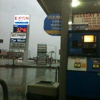 Photo taken at Exxon by Micah E. on 2/1/2012