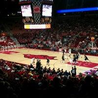 Photo taken at Bud Walton Arena by Cory T. on 11/5/2011