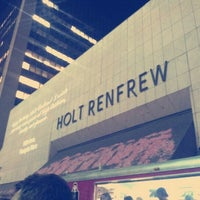 Photo taken at Holt Renfrew Centre by Maria F. on 9/7/2012