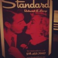 Photo taken at The Standard Restaurant & Lounge by matt c. on 1/25/2012