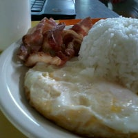 Photo taken at Happy Eggs All-Day Breakfast Place by Michael A. on 7/7/2012
