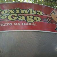 Photo taken at Coxinha do Gago by Diego R. on 1/13/2012