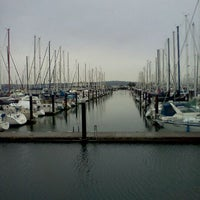 Photo taken at Everett Marina by Marcelle on 12/24/2011