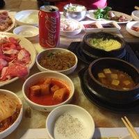 Photo taken at Cham Sut Gol Korean BBQ by Julie C. on 8/12/2012