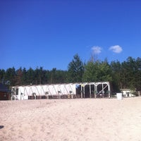 Photo taken at Корчагин Парк - Beach Club by Kristina G. on 7/3/2012
