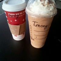 Photo taken at Starbucks by Tracey on 11/17/2011