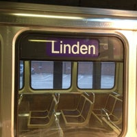 Photo taken at CTA - Linden by Andre P. on 3/8/2012
