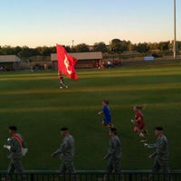 Photo taken at John Crain Field at the OU Soccer Complex by Tabitha on 9/30/2011