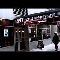 Photo taken at The Peoples Improv Theater by Todd S. on 5/2/2011