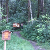Photo taken at Heybrook Lookout Hiking Trail by Scott E. on 7/21/2012