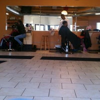 Photo taken at Lifestyles Barber and Sneaker Shop by JL J. on 11/16/2011