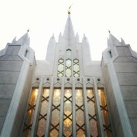 Photo taken at San Diego California Temple by Nat H. on 8/23/2012