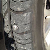 Photo taken at Discount Tire® Store by John N. on 5/16/2012