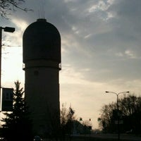 Photo taken at Ypsilanti Water Tower by Dan K. on 3/19/2012