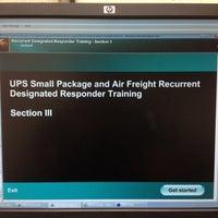 Photo taken at Ups Shipping Center Brandt Pike by Jacinda B. on 9/6/2012
