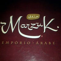 Photo taken at Marzuk Empório Árabe by Cybelle F. on 4/26/2012