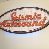 Photo taken at Seismic Autosound by Julia B. C. on 4/29/2012