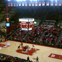 Photo taken at Rutgers- Louis Brown Athletic Center (The RAC) by JRSIV on 3/4/2012