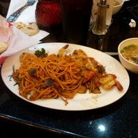 Photo taken at Umami Mongolian Grill by Alejandrina R. on 2/18/2012