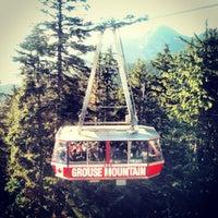 Photo taken at Grouse Mountain by Anton B. on 9/3/2012