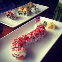 Photo taken at Hot Woks Cool Sushi by Gloria C. on 8/25/2012