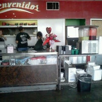 Photo taken at Yoli's Tacos & Barbacoa To Go by Alison G. on 2/15/2012