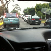 Photo taken at Av. Las Fuentes by Juanma C. on 2/10/2012
